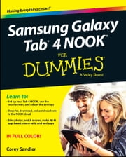 Samsung Galaxy Tab 4 NOOK For Dummies ebook by Corey Sandler