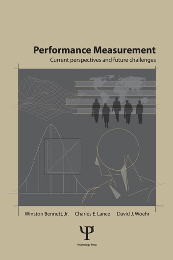 Performance Measurement - Current Perspectives and Future Challenges ebook by