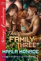 Their Family of Three ebook by Marla Monroe