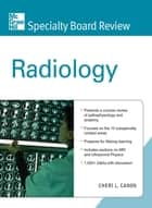 McGraw-Hill Specialty Board Review Radiology ebook by Cheri Canon