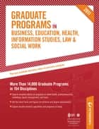 Peterson's Graduate Programs in Health-Related Professions 2011 ebook by Peterson's