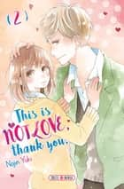 This is not Love, Thank you T02 ebook by Nojin Yuki