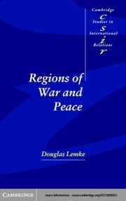 Regions of War and Peace ebook by Lemke, Douglas