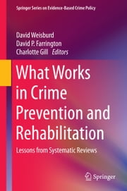 What Works in Crime Prevention and Rehabilitation - Lessons from Systematic Reviews ebook by David Weisburd,David P. Farrington,Charlotte Gill