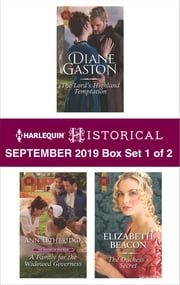 Harlequin Historical September 2019 - Box Set 1 of 2 ebook by Diane Gaston, Ann Lethbridge, Elizabeth Beacon
