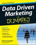 Data Driven Marketing For Dummies ebook by David Semmelroth