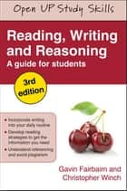 Reading, Writing And Reasoning ebook by Gavin Fairbairn, Christopher Winch