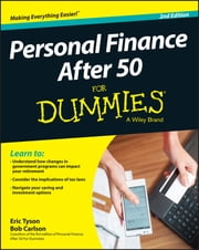 Personal Finance After 50 For Dummies ebook by Eric Tyson,Bob Carlson