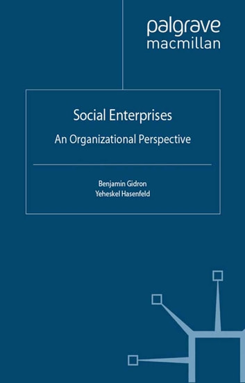 Social Enterprises - An Organizational Perspective ebook by