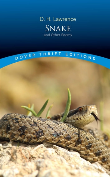 Snake and Other Poems ebook by D.H. Lawrence