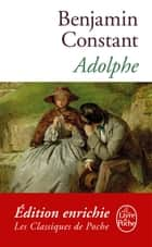Adolphe ebook by Benjamin Constant