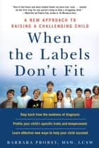 When the Labels Don't Fit ebook by barbara probst