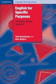 English for Specific Purposes ebook by Hutchinson, Tom