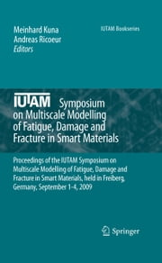 IUTAM Symposium on Multiscale Modelling of Fatigue, Damage and Fracture in Smart Materials - Proceedings of the IUTAM Symposium on Multiscale Modelling of Fatigue, Damage and Fracture in Smart Materials, held in Freiberg, Germany, September 1-4, 2009 ebook by Meinhard Kuna,Andreas Ricoeur
