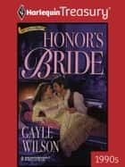 Honor's Bride ebook by Gayle Wilson