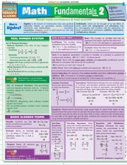 Math Fundamentals 2 ebook by BarCharts,Inc