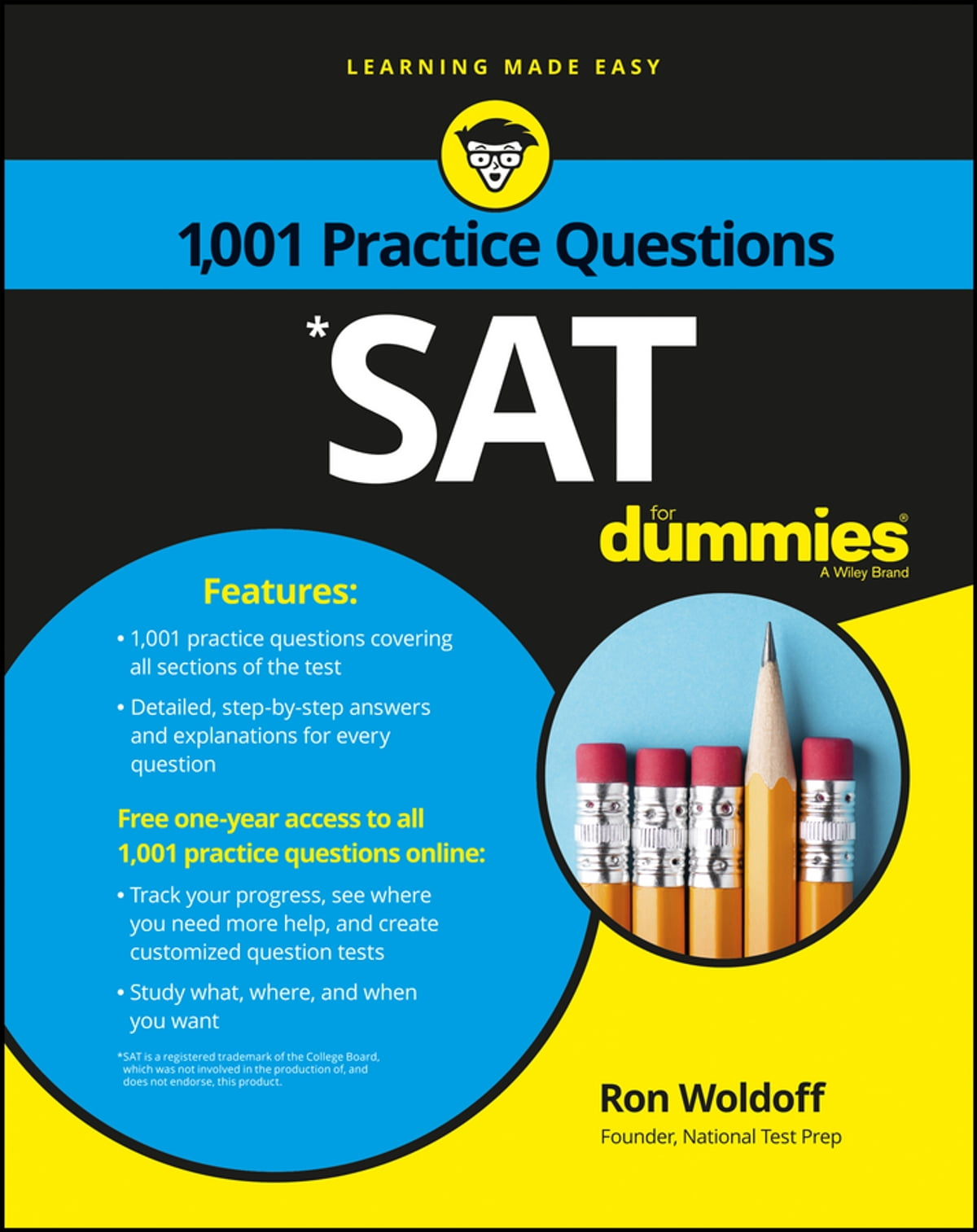1,001 SAT Practice Questions For Dummies eBook by Ron Woldoff -  9781119215639 | Rakuten Kobo