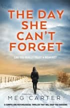 The Day She Can't Forget - A compelling psychological thriller that will keep you guessing ebook by