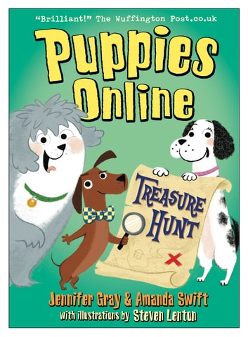 Puppies Online: Treasure Hunt eBook by Jennifer Gray,Amanda Swift