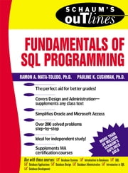 Schaum's Outline of Fundamentals of SQL Programming ebook by Ramon Mata-Toledo,Pauline Cushman