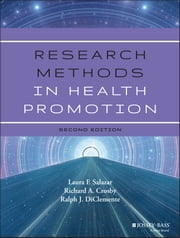 Research Methods in Health Promotion ebook by Laura F. Salazar,Richard A. Crosby,Ralph J. DiClemente