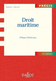 Droit Maritime ebook by Philippe Delebecque