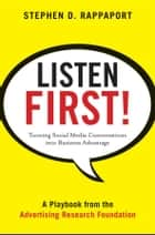 Listen First! ebook by Stephen D. Rappaport