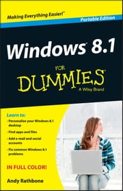 Windows 8.1 For Dummies, Portable Edition ebook by Andy Rathbone