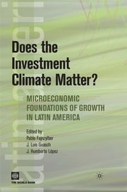 Does The Investment Climate Matter?: Microeconomic Foundations Of Growth In Latin America ebook by Fajnzylber Pablo; Lopez J. Humberto; Guasch Jose Luis