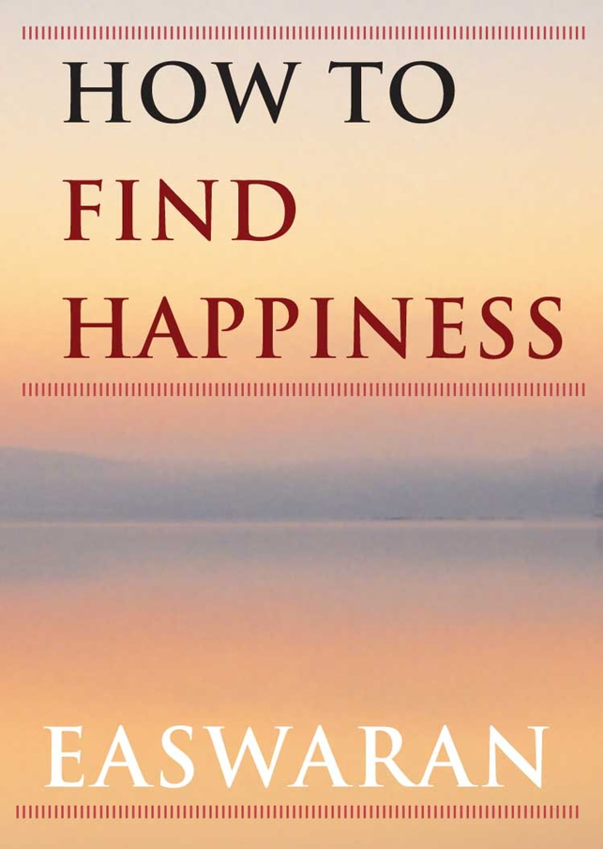 how can i find happiness