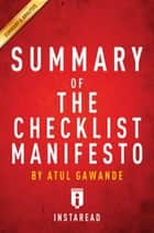 Summary of The Checklist Manifesto ebook by Instaread Summaries