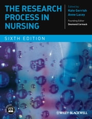 The Research Process in Nursing ebook by Kate Gerrish,Anne Lacey