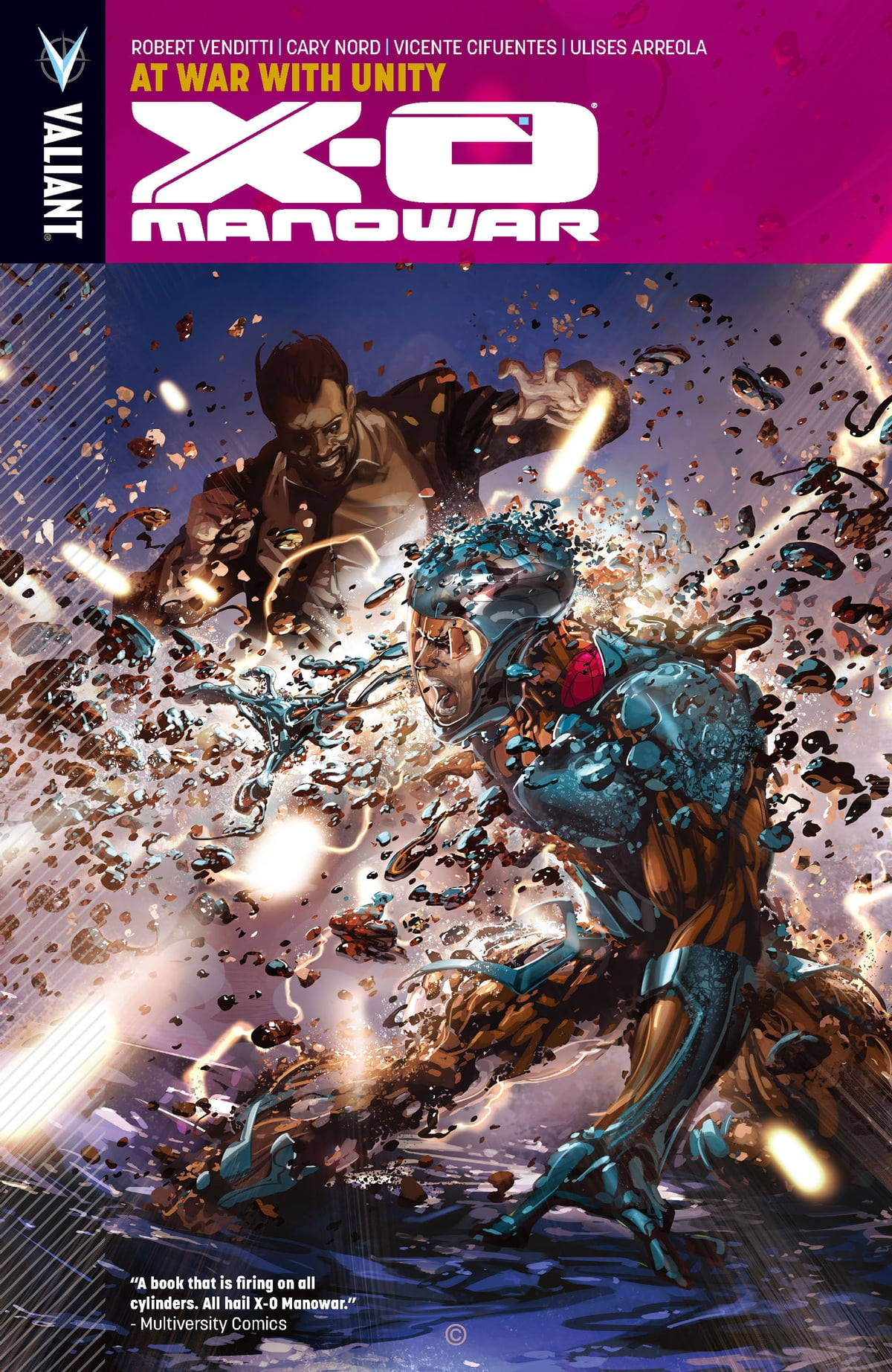 X-O Manowar Vol. 5: At War With Unity eBook by Robert Venditti -  9781682150313 | Rakuten Kobo