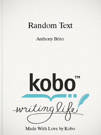 Random Text - 5 000 words of random text in 2 languages. ebook by Anthony Brito
