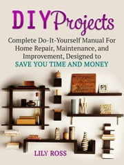 DIY Projects: Complete Do-It-Yourself Manual For Home Repair, Maintenance, and Improvement, Designed to Save You Time and Money ebook by Lily Ross