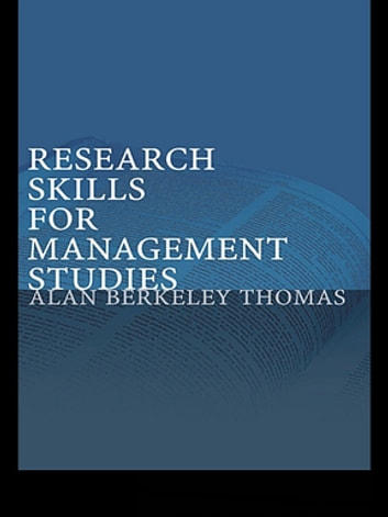 Research skills for management studies ebook by alan berkeley thomas research skills for management studies ebook by alan berkeley thomas fandeluxe Image collections