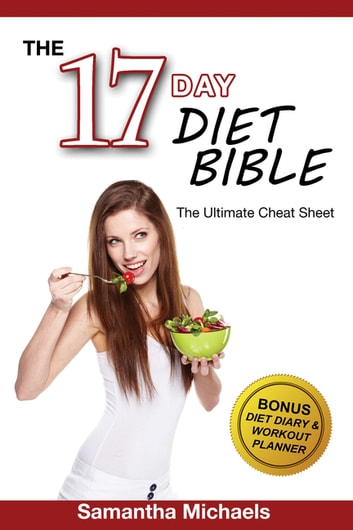 17 day diet ultimate cheat sheet with diet diary workout planner