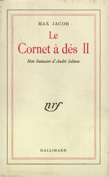 Le Cornet à dés (Tome 2). Note liminaire d'André Salmon ebook by Max Jacob