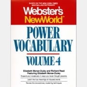 Webster's New World Power Vocabulary, Volume 4 audiobook by Elizabeth Morse-cluley, Richard Reed