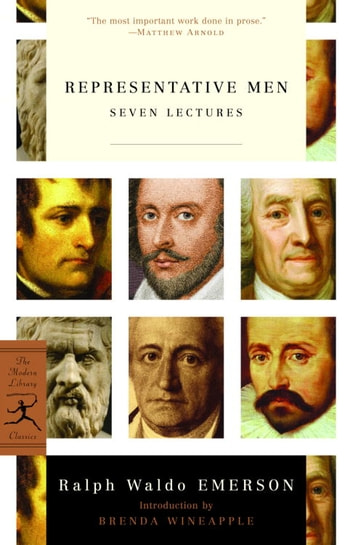 Representative Men - Seven Lectures ebook by Ralph Waldo Emerson
