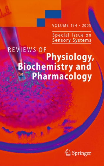 Reviews of Physiology, Biochemistry and Pharmacology 154 ebook by