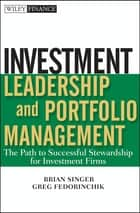 Industrial organization ebook by paul belleflamme 9781316288801 investment leadership and portfolio management the path to successful stewardship for investment firms ebook by fandeluxe Image collections