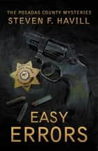 Easy Errors ebook by Steven Havill