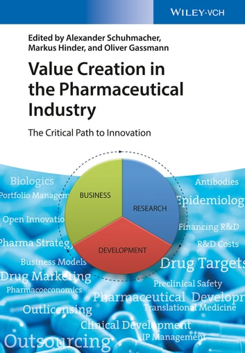 Value Creation in the Pharmaceutical Industry - The Critical Path to Innovation ebook by Alexander Schuhmacher,Markus Hinder,Oliver Gassmann