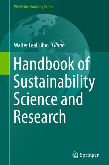 Handbook of Sustainability Science and Research ebook by