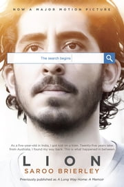 Lion (Movie Tie-In) ebook by Kobo.Web.Store.Products.Fields.ContributorFieldViewModel