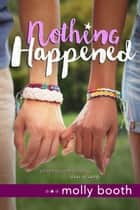 Nothing Happened ebook by Molly Booth