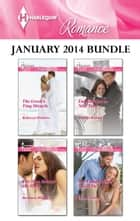 Harlequin Romance January 2014 Bundle - The Greek's Tiny Miracle\The Man Behind the Mask\English Girl in New York\The Final Falcon Says I Do ebook by Rebecca Winters, Barbara Wallace, Scarlet Wilson,...