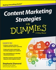 Content Marketing Strategies For Dummies ebook by Stephanie Diamond