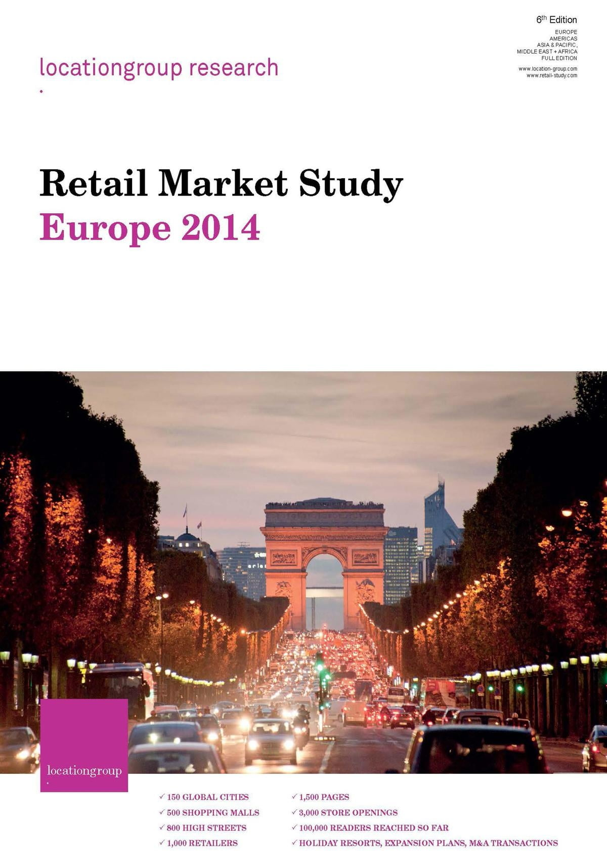 Retail Market Study Europe 2014 ebook by Location Group Research Rakuten Kobo